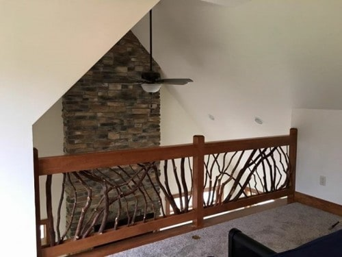 Lake Home Loft Railing