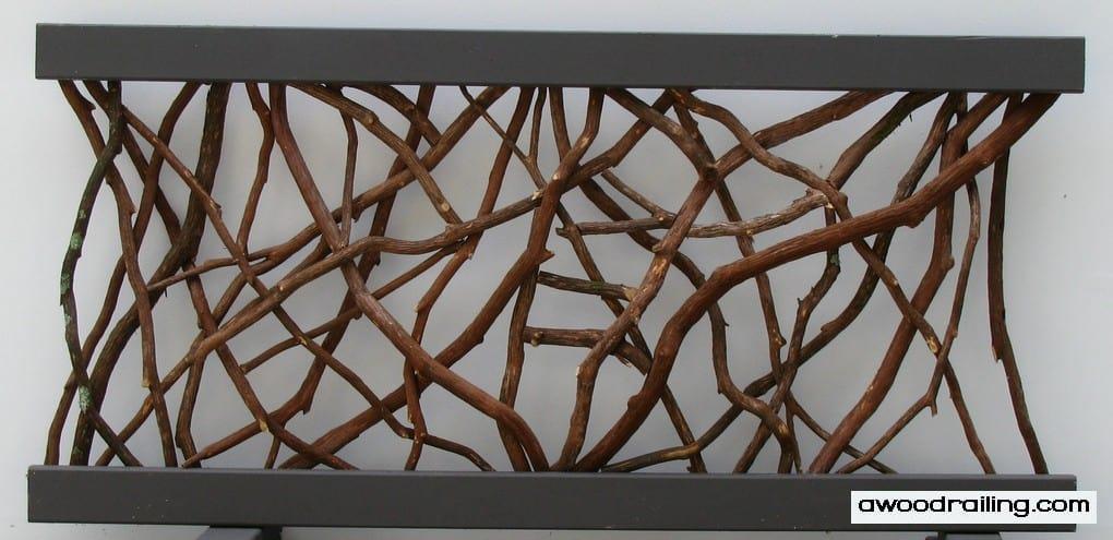Twig Railing