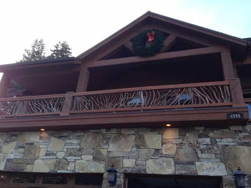 Exterior Wood Handrails