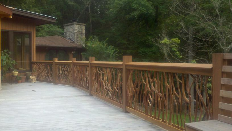 Ipe Deck Railing Options