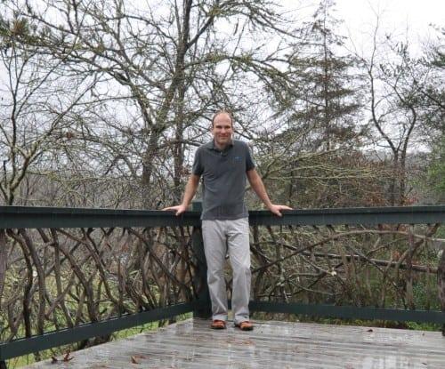 Rustic Handrail Entrepreneur