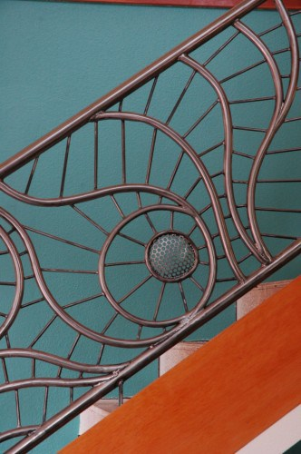 Unique Wrought Iron Railing