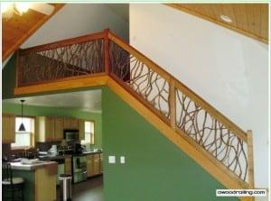 Interior Stair Handrail