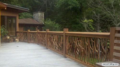 Long Deck Railing Picture