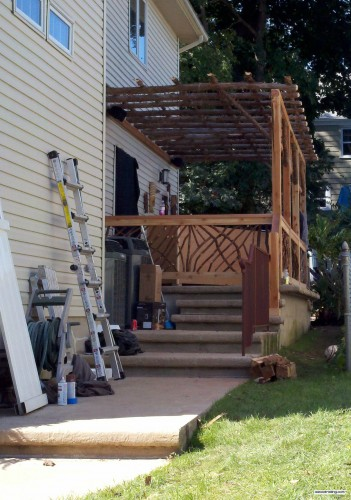 Mountain Laurel Handrails for Man Caves