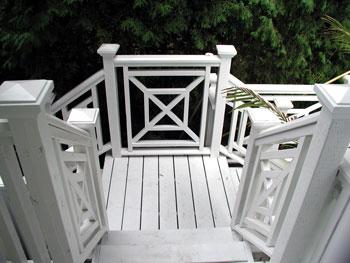 Simple Deck Railing Idea