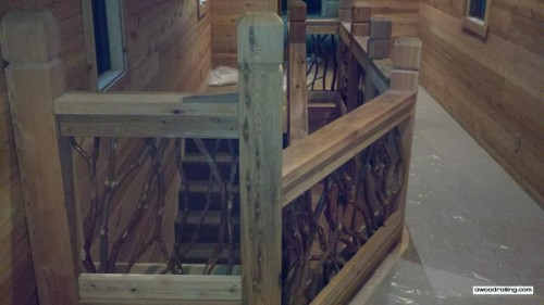 Custom Wood Railing