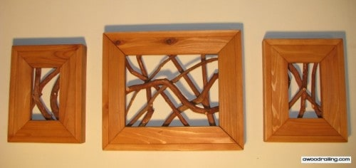 Rustic Mountain Laurel Picture Frames