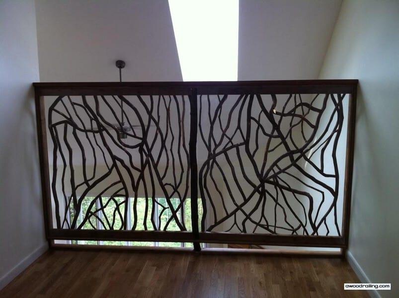 tall railing screen