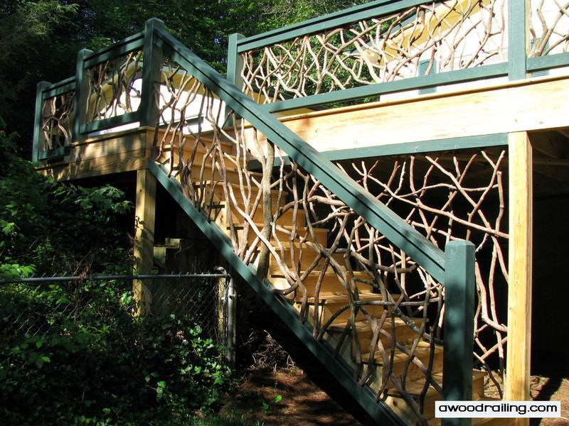 Outdoor Railing for Stairs
