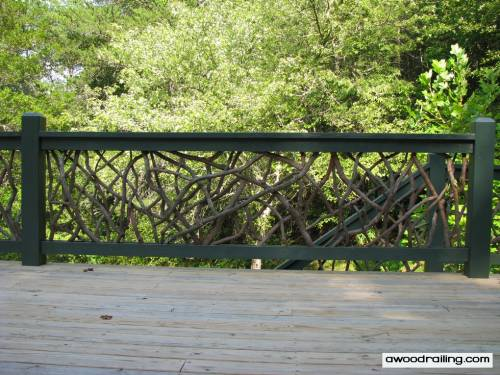 The Mountain Laurel Handrails