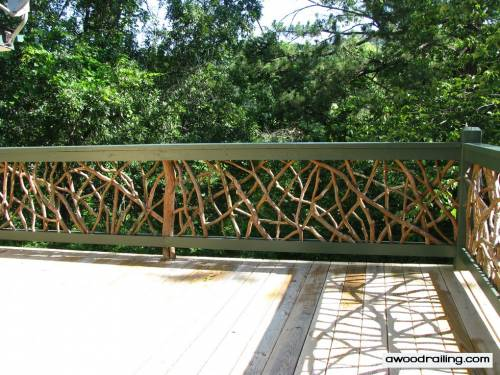 Wooden Outdoor Handrails