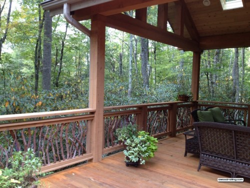 Carolina Branch Deck Railing