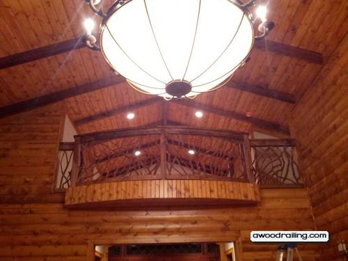 Balcony Wood Railing