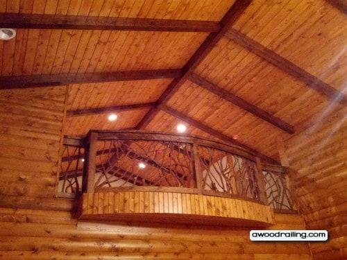Curved Balcony Handrail