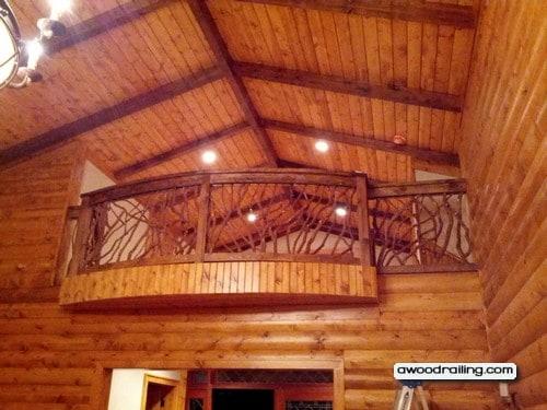 Curved Balcony Railing