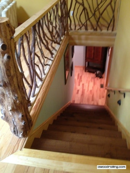 Mountain Laurel Handrail Wood Railings Decks Stairs