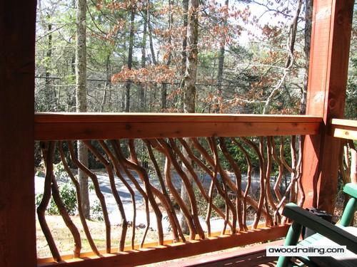 Wood Handrails