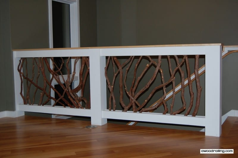 Interior balcony railing transform your home with handrail for Inside balcony railing