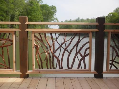 Decorative Deck Railing