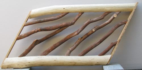 Locust and Laurel Stair Handrail