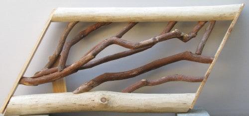 Locust and Laurel Stair Railing