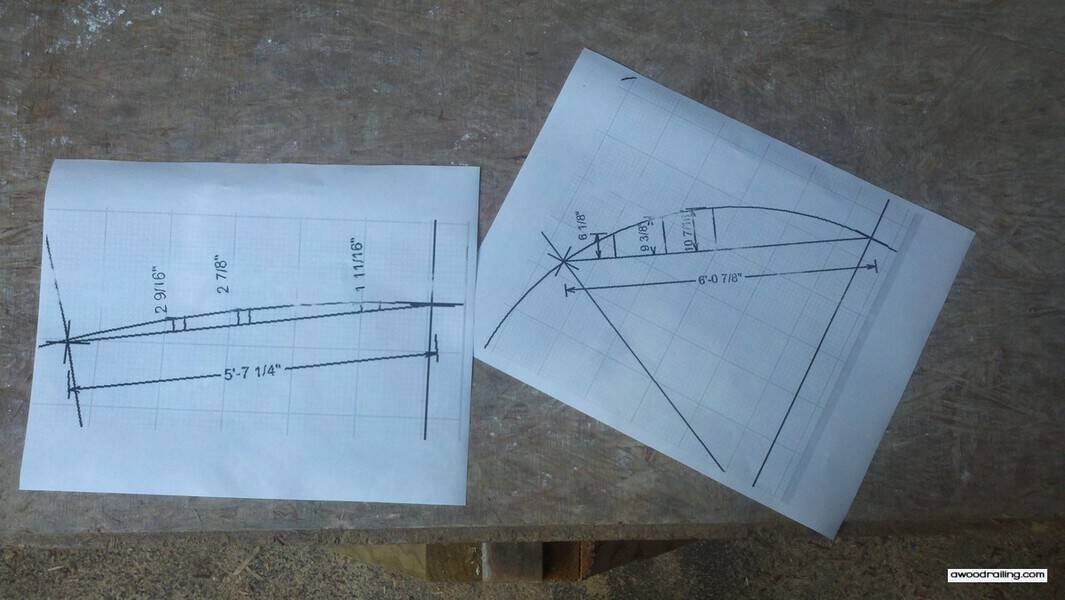 Curved Railing Plans