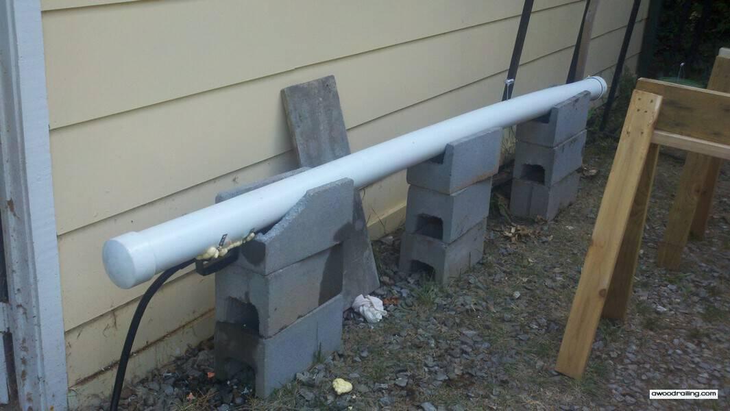 Steamer for Curved Lumber
