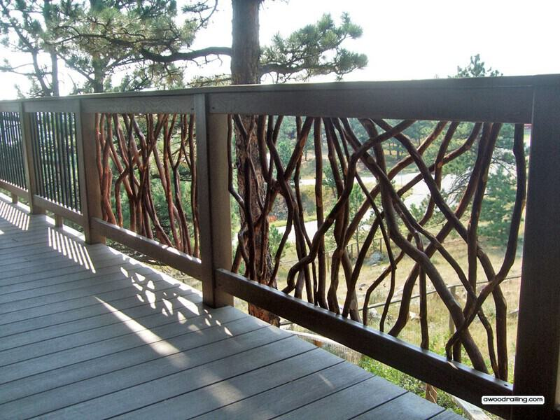 Deck Railing Installed in Colorado