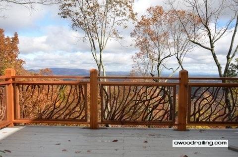 Custom Deck Handrail