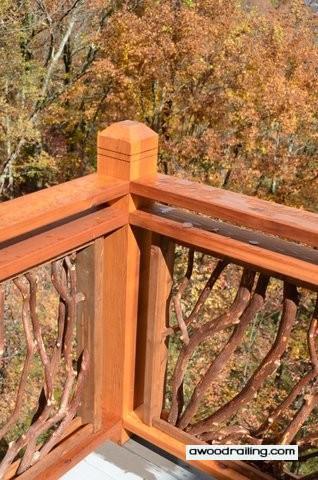 Handrail Corner Post