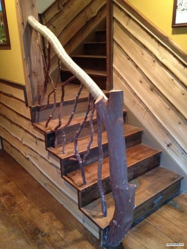 Branch Railing for Stairs