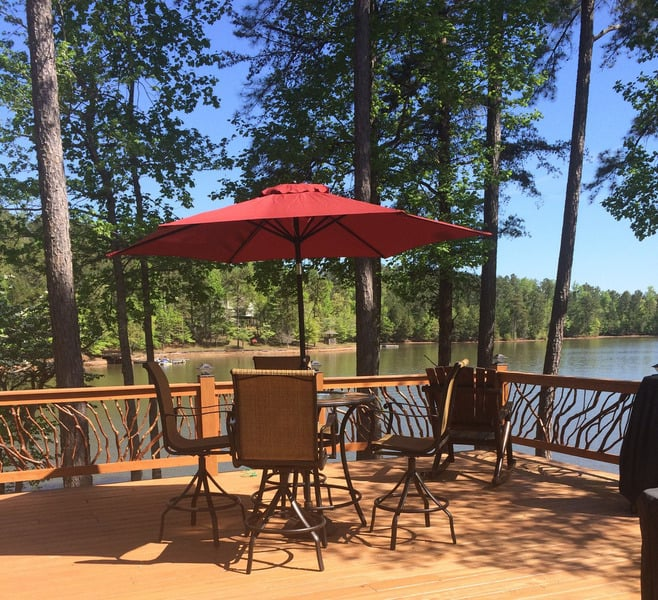 Wood Railing and Deck Furniture