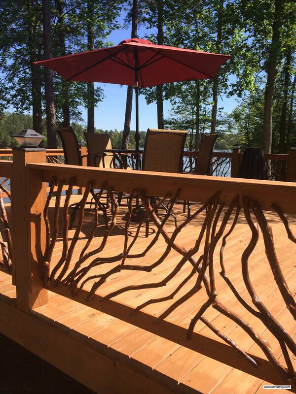 Alabama Lake House Deck Railing