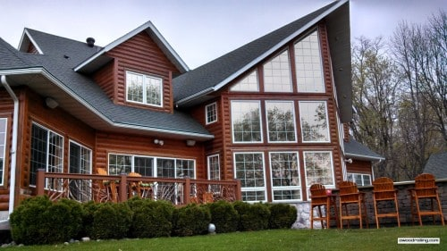 Minnesota Lake Home Deck Railing