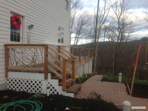 Pennsylvania Deck Railing