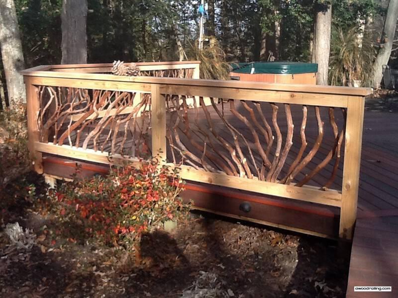 Delaware Deck Railing