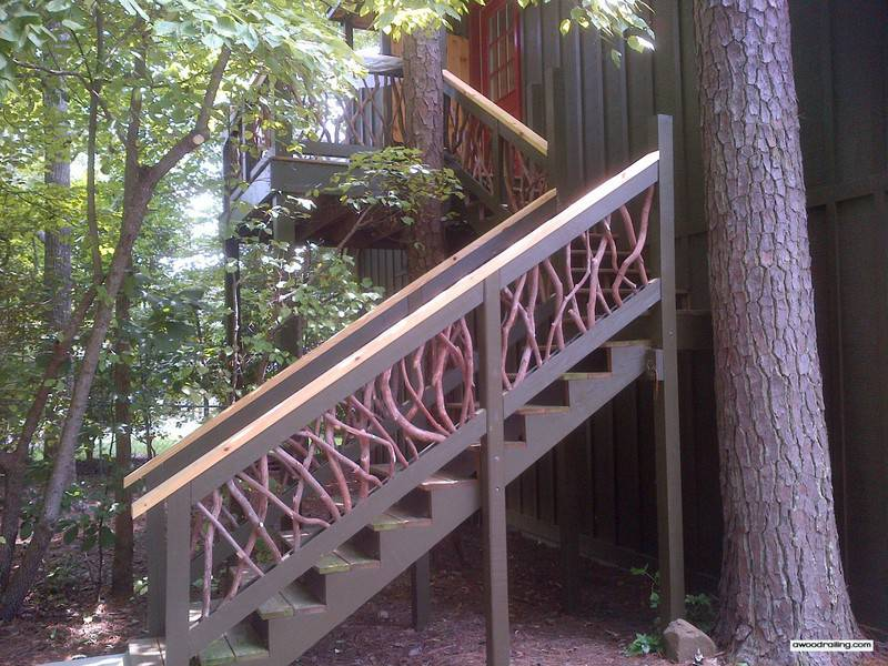 Side Railing on Stairs