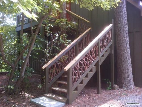 Asheville, NC Wood Railing