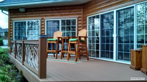 Wood Railing and Deck Furniture