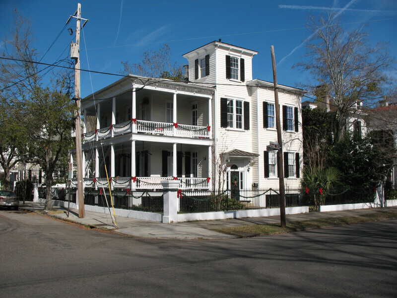 Charleston SC Home with Widow's Walk