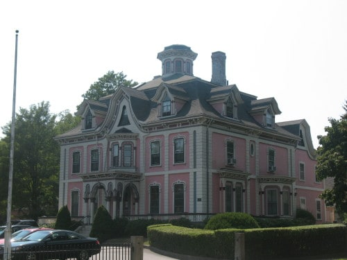 Ornate Massachusets Home with Widows Walk