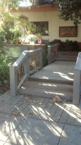 Handrail in Palo Alto California