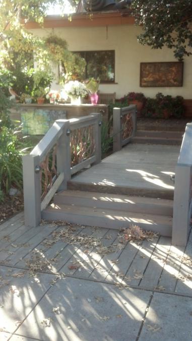 Handrail in Palo Alto California