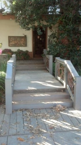 Mountain Laurel Handrail Installed in Palo Alto, CA