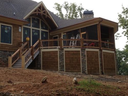 Rustic Railing, Rustic Home
