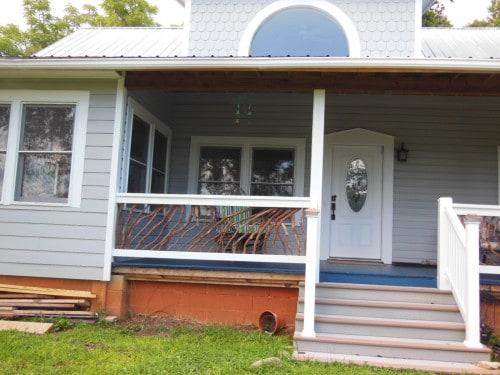 Cherokee, NC Porch Railing