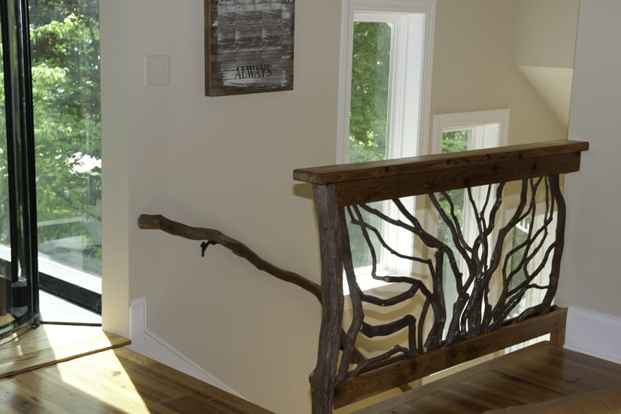 Sunburst Pattern Branch Railing