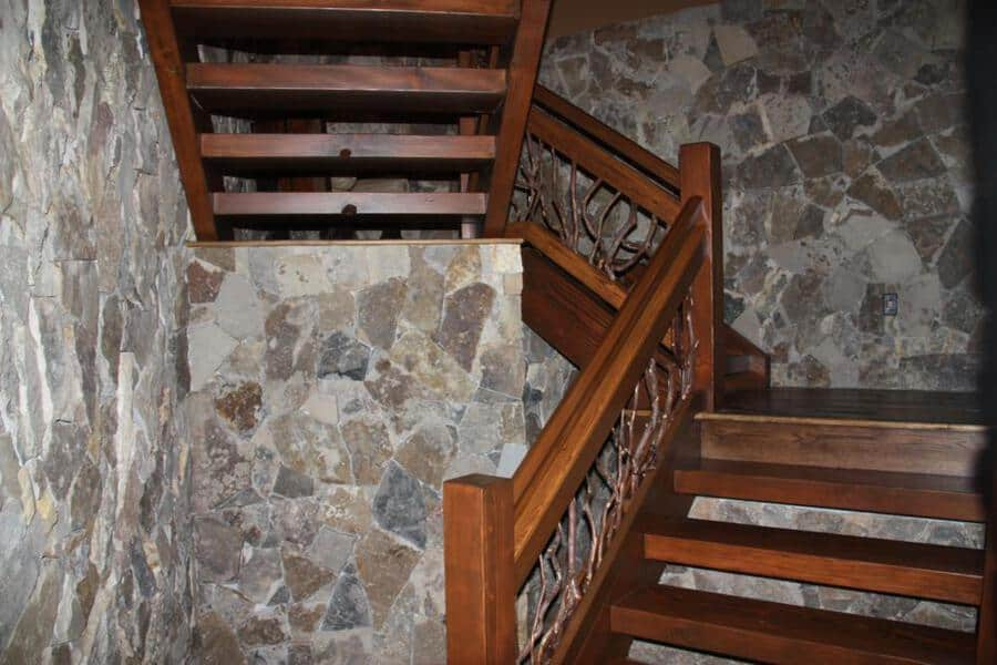 Wood Stair Hand Railing