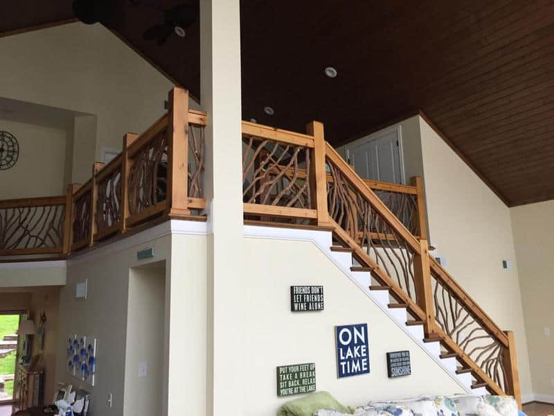 Wooden Handrails for Steps